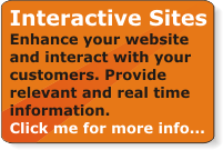 Enhance your website design and interact with your customers. Provide relevant and real time information.