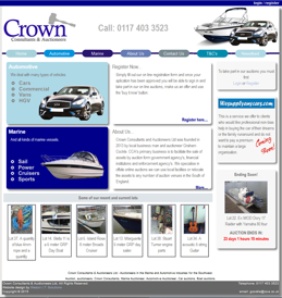 Crown Consultants and Auctioneers.