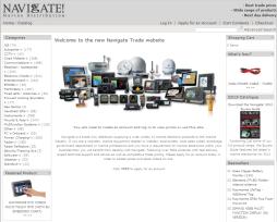 Another website design - Navigate Marine Distribution
