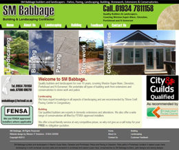SM Babbage Builders and Landscapers in Weston Super Mare